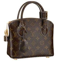 The petite Lockit BB is a beguiling reinterpretation of a Louis Vuitton  icon. Glossy Monogram 75ecc99bbb7