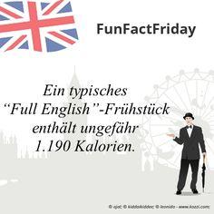 """#FunFactFriday bei THE BRITISH SHOP: Ein typisches """"Full English""""-Frühstück enthält ungefähr 1.190 Kalorien."""