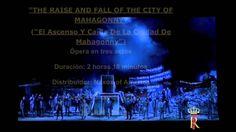 Bajo la dirección  de La Fura dels Baus, Ascenso y caída de la ciudad de Mahagonny se presentó en 2010 en el Teatro Real, con un montaje simple y directo para crear una implacable sátira de la sociedad capitalista en tiempos de crisis (la ópera se estrenó en 1930, después del crack de 1929).  La acción se ha situado en un vertero de basura, metáfora del declive de nuestro tiempo.  Se trata de una obra   más actual en estos momentos que cuando la escribió Brecht…