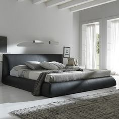 Rossetto Usa Coco Brown King Platform Bed 499000708um