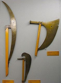 large axe ottoman type weapons, the Military Museum; Istanbul ...