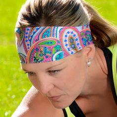 Pink Paisley - I need this headband.