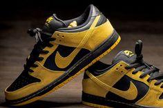 "premium selection 517cf 3c40e Nike SB Dunk Low ""Iowa"" Nike Sb Dunks, Casual Sneakers, Air Max"