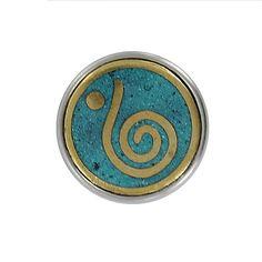 """Chunk türkis, Third eye - Das """"dritte Auge"""" symbolisiert Weisheit, Intuition und Wissen."""