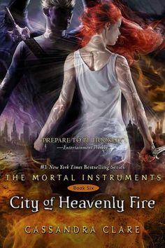 """Útimo Livro Da Série Instrumentos Mortais """"City of Heavenly Fire"""" Tem Capa Revelada >>>  http://ow.ly/sCI9f"""