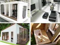 Modern Doll Houses: Paper Houses by Skea