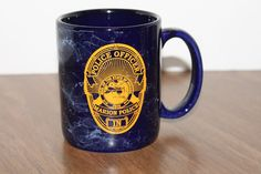 Police Officer Marion Police Seal of the State of Indiana Coffee Mug Cup