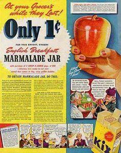 8d01040c Hazel Atlas Apple Jam Jar Kix premium vintage advertising Apple Jam, Retro  Recipes, Vintage