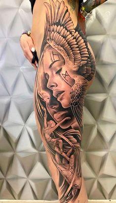 Animal Sleeve Tattoo, Best Sleeve Tattoos, Hand Tattoos, Girl Tattoos, Side Tattoos Women, Dope Tattoos For Women, Trendy Tattoos, Tattoo Femeninos, Sick Tattoo