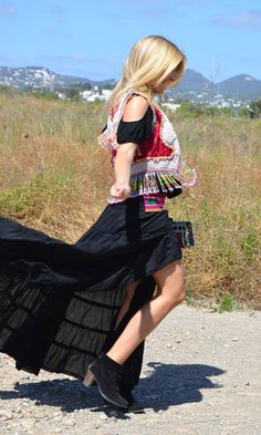 Asimetrik Skirt by @freeloveibiza available at @ibizatrendy