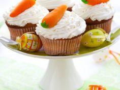 Receta de Cupcakes de Zanahoria con Betún de Queso Crema