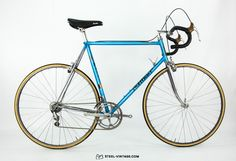 Steel Vintage Bikes - Francesco Moser 51.151Classic Aero Bike from the Early 1980s