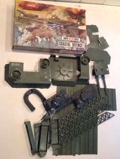 Airfix costal Defense station, hard plastic fort with shooting guns. Vintage Toys 1970s, 1970s Toys, Retro Toys, Childhood Toys, Childhood Memories, Airfix Models, Airfix Kits, Plastic Soldier, Airplane Art