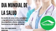 #DíaMundialDeLaSalud #Covi19 #Pandemia #YoMeQuedoEnCasa Personal Care, Beauty, Grateful, Health, Personal Hygiene, Beauty Illustration