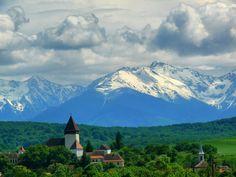Hosman Village, Fagaras Mountains, Romania