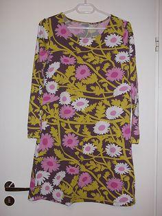 "Marimekko ""Horsma"" Tunic Dress European Size s or XL | eBay"