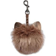 Cat Ear Key Chain ($9) ❤ liked on Polyvore featuring accessories, bags, keychain and fob key chain