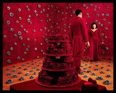 Red - Sandy Skoglund  Love this instillation