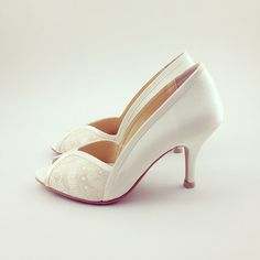Hey, I found this really awesome Etsy listing at https://www.etsy.com/ca/listing/190013635/ivory-lace-wedding-shoes-ivory-lace