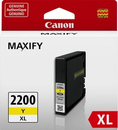 Canon - PGI-2200 XL High-Yield Ink Cartridge - Yellow, 9270B001
