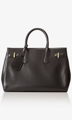 (MINUS THE) LEATHER SHOPPER TOTE | Express