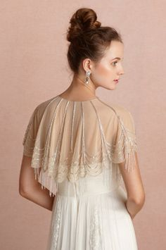 love this BHLDN capelet