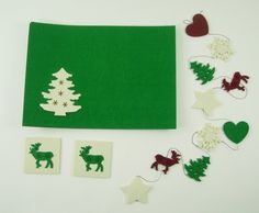 Nice simple christmas placemats