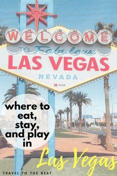 four day vegas getaway guide for first timers #vegas #traveller #traveltips