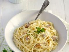 Spaghetti façon carbonara #vegan • Hellocoton.fr