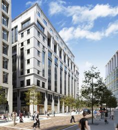 Three Pancras Square, King's Cross, London - Porphyrios & Associates