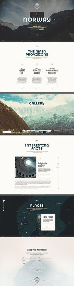 NorwayTheme - Nature Travel Template #site #nature #creative • Download ➝ https://themeforest.net/item/norwaytheme-nature-travel-template/14429444?ref=pxcr