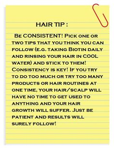 Hair Tips that Work!  The Brown Truth's FB Page and Blog:  www.facebook.com/... www.thebrowntruth...