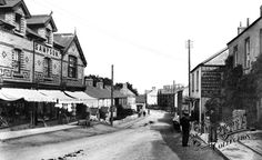 Old photo of New Road 1901, Porthcawl. Ironically it's still the New Road