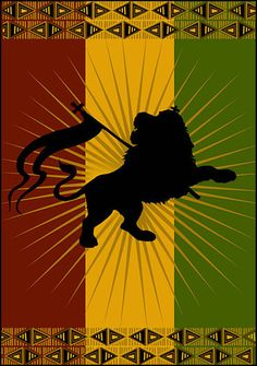 Rasta Shadow Lion ☮ ☮ Hippie Style ☮ ☮