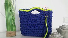 Tasche aus Stoffgarn KS Stil Einzigartig & Individuell in Garne & Strickwolle | eBay