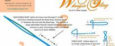 How to make Camping Hammock Whoopie Slings – adjustable hammock suspension DIY, MYOG