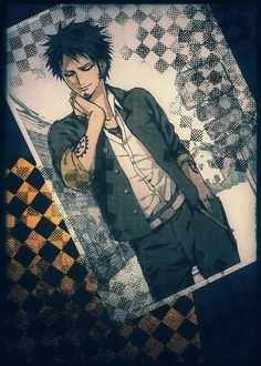 Trafalgar D. Water Law, cool, suit, outfit, photo, picture; One Piece