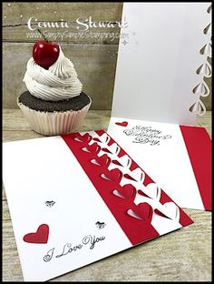 Ever made one of those cards that you beam over?  That's how I felt after I created today's card.  The popping hearts on this card are beautiful on the outside of the card and…