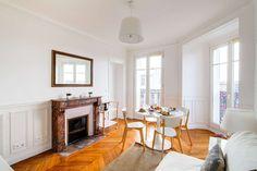 Vacation Rentals, Homes, Experiences & Places - Airbnb Paris Apartment Rentals, Parisian Apartment, Paris Apartments, Rental Apartments, French Homes, Fireplaces, Perfect Place, Living Area, Condo