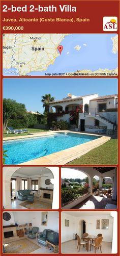 2-bed 2-bath Villa in Javea, Alicante (Costa Blanca), Spain ►€390,000 #PropertyForSaleInSpain