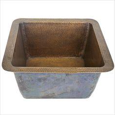 Square Bronze Sink | Builder's Series | Linkasink