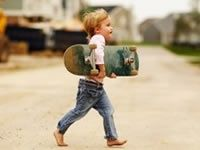 skate kid...once again how a child of mine would be lol
