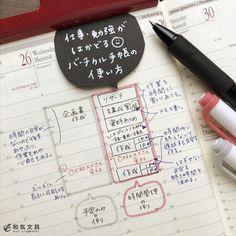 今回は、バーチカル手帳の使い方の幅が広がる書き方です。 本来、バーチカル手帳は営業のお仕事でアポが多いとか、時間単位の予定が多い人に向いている手帳です。 でも、本当はそれ以外の人でも使えるんですよ〜(