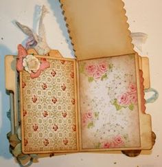 love the soft distressed colours  Shabby Beautiful Scrapbooking