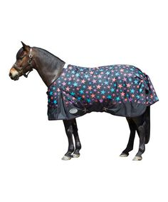 This Black Stars Original 1200-D Midweight Pony Blanket by Weatherbeeta is perfect! #zulilyfinds