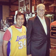 Adam Sandler and Phil Jackson (5/16/13) #TonightShow