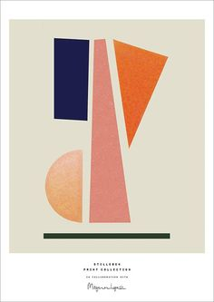 """Balance, graphic work on print by Berit Mogensen Lopez made for Stilleben Print Collection. Berit Mogensen Lopez has a unique approach when it comes to symmetry. She once stated that """"My prints are build up by a sort of meditative rhythm, which I after Poster Art, Design Poster, Design Art, Poster Colour, Interior Design, Illustration Arte, Art Graphique, Buy Posters, Grafik Design"""