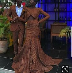 African Dresses For Women, African Men, African Fashion, African Outfits, Ankara Clothing, African Wedding Dress, Couple Outfits, Custom Dresses, Prom Dresses