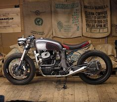 """Honda Birdee - Mokka Cycles GL500 Interstate"" (Via Return of the Cafe Racers). #honda #motorcycle #caferacer #moto…"