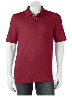 Croft & Barrow Classic-Fit Pique Polo Shirts Only $5.09!